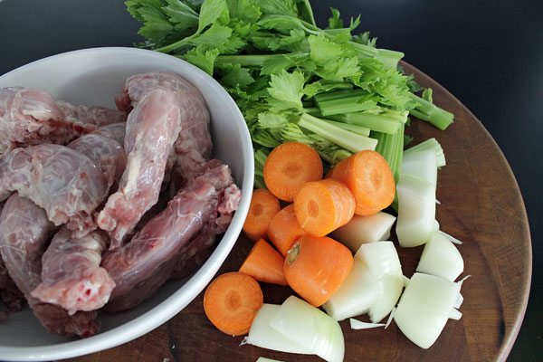Chicken Stock Ingredients