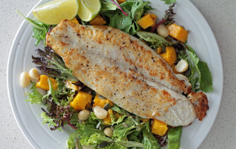 Fish & Mango Salad