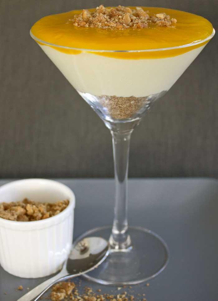 Mango & Macadamia Cheesecake