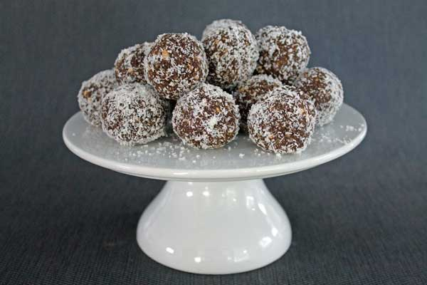 Bliss Balls - little nut free treats