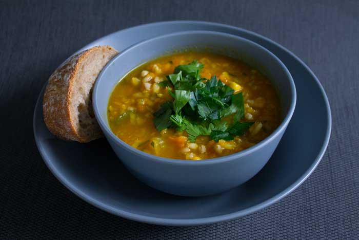 Grandma S Vegetable Amp Pearl Barley Soup Fork This Way