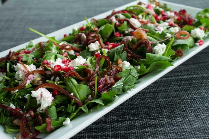 Rocket & Pommegranate Salad