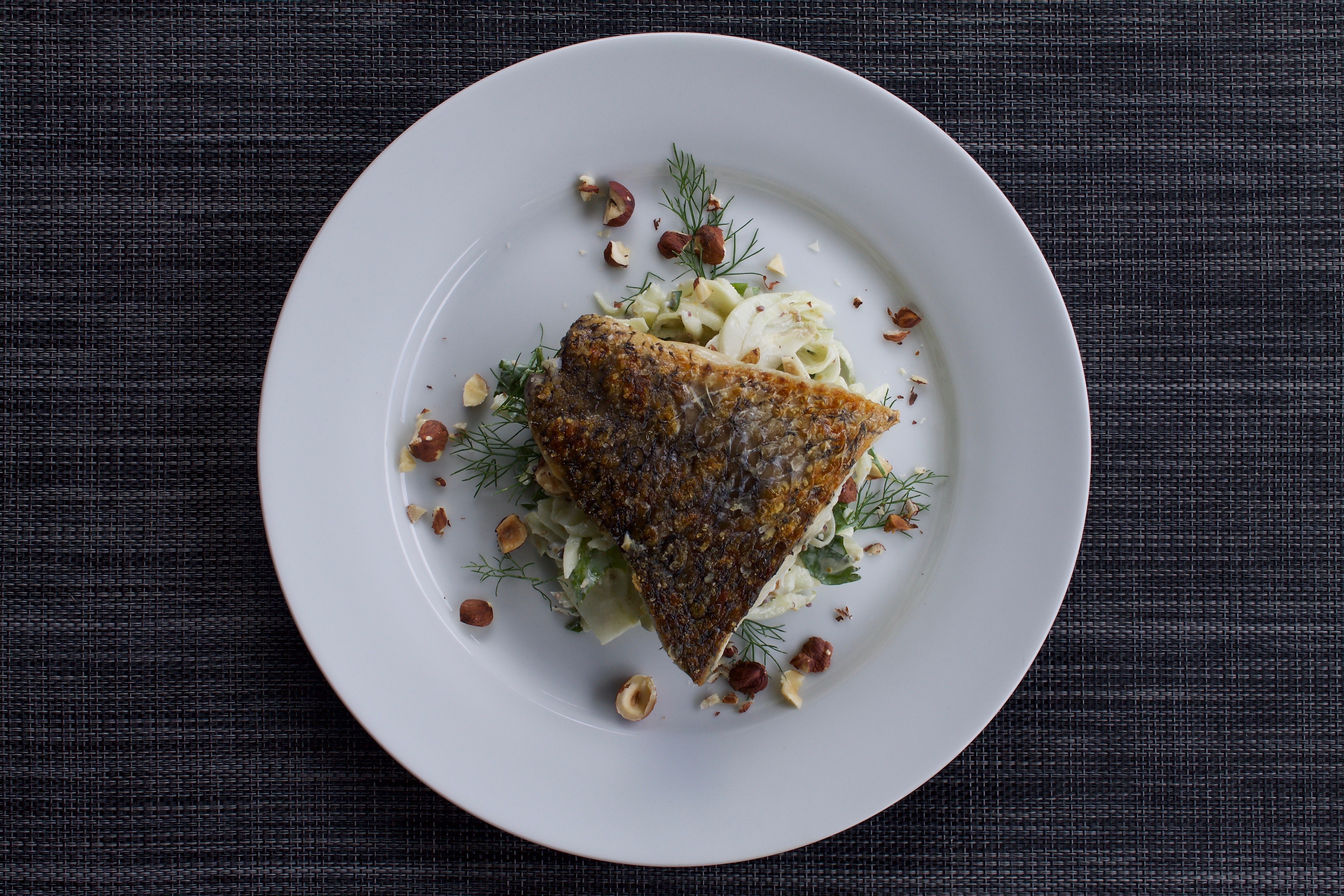 Barramundi with Apple and Fennel Remoulade